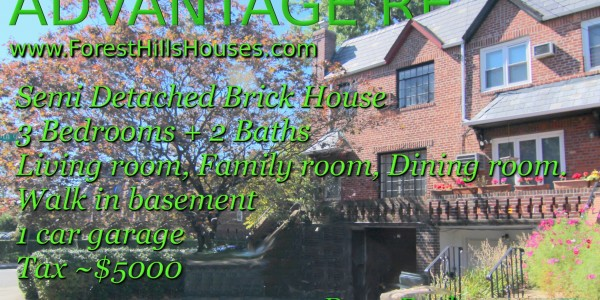 rego park semi detached house